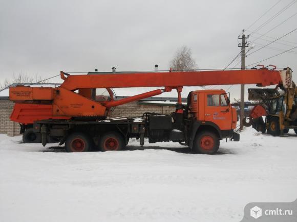 Автокран КамАЗ - 2005 г. в.