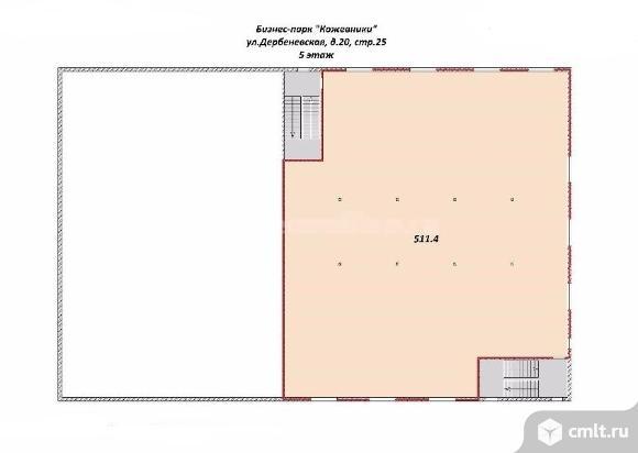 Аренда офиса 511.4 кв.м, 8 000 руб. м2/год