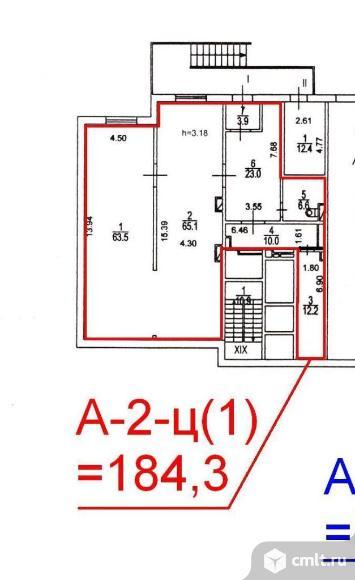 Продается помещение 184.3 кв. м, м. Строгино