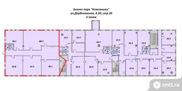 Офис 326.7 кв.м, м.Павелецкая