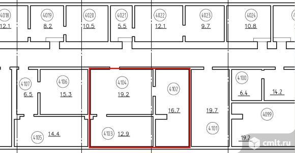 Аренда офиса 48.8 кв.м, м.Кутузовская