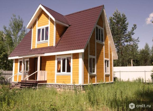 Дмитровское ш. 60 км, дом 100 м у леса.