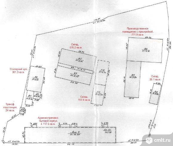 Продается офисно-складское здание 6 034,4 кв. м