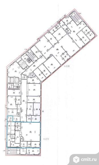Офисное помещение 200 кв. м. , прямая аренда, срок аренды - любая. м.Международная, 6 мин.