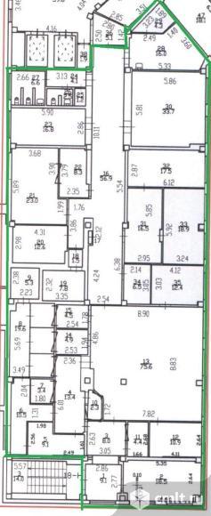 Сдается офис 464 кв. м., прямая аренда, срок аренды - любая. м.Международная, 15 мин.