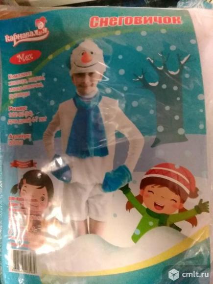 Новогодний костюм Снеговика новый 4-7лет