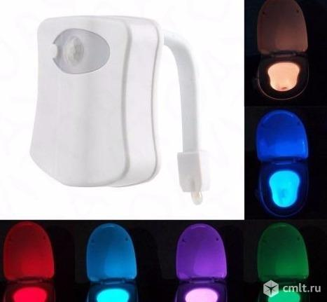 Подсветка унитаза (туалета) с датчиком движения