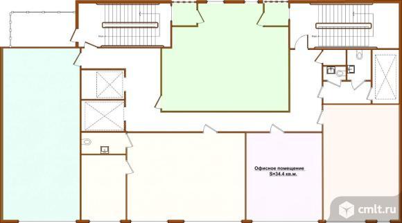 Офис  в новом БЦ 34.4 кв.м.