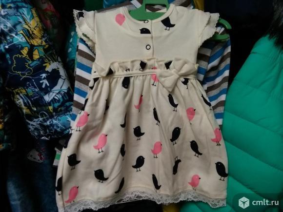 Новые нарядные платья р.74-80