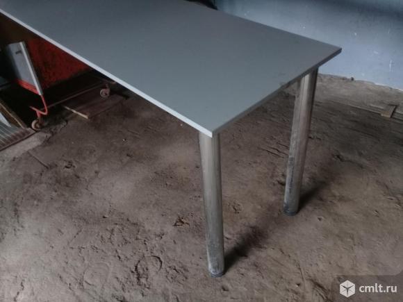Приставка к столу на 2х металлических опорах