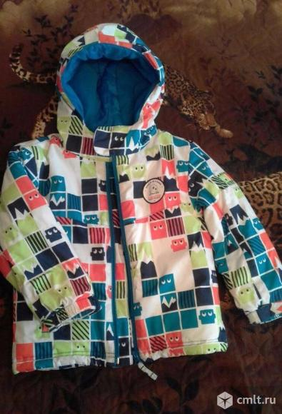 Куртка Декатлон мальчик девочка 2-4года