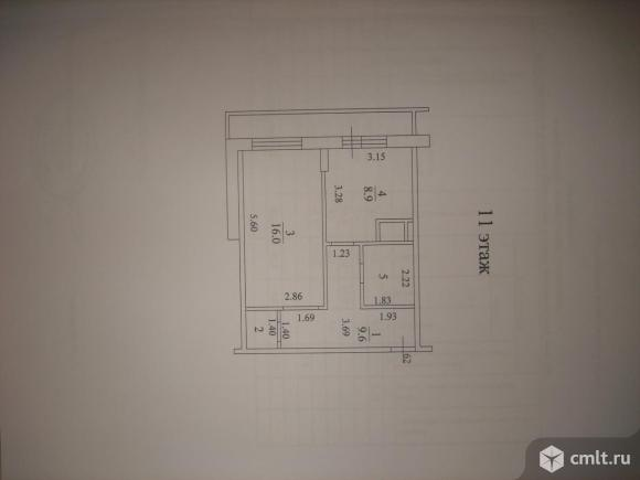 """1-комнатная квартира в ЖК """"Ботанический сад"""""""