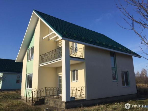 Дом 129 м2 на участке ИЖС 12 сот. в пос. Заокский.