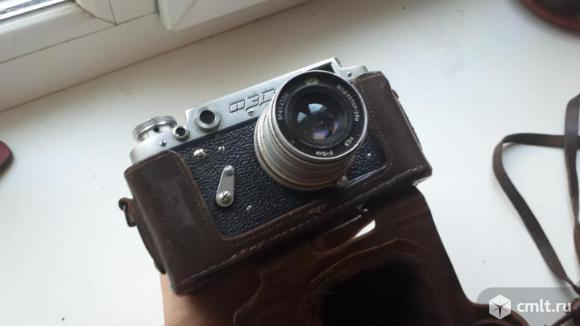 Фотоаппарат пленочный ФЭД-2. Фото 2.