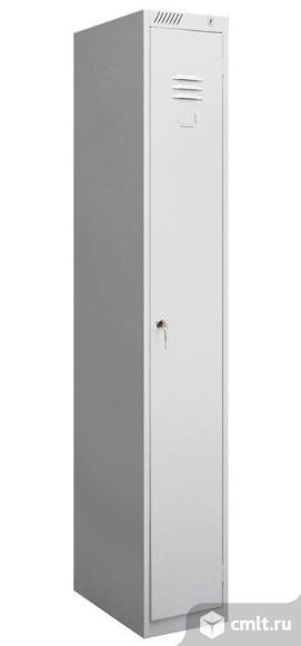 Шкаф металлический для одежды модульный.. Фото 1.