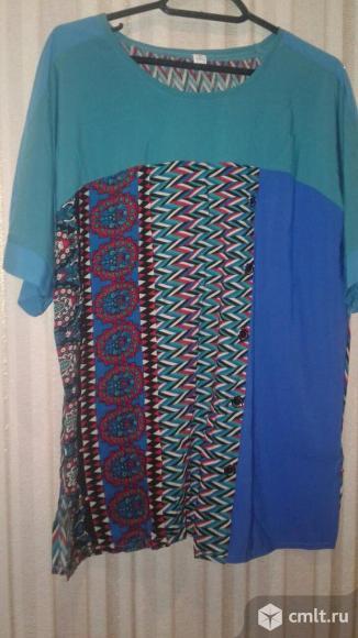 Новая блуза 54р