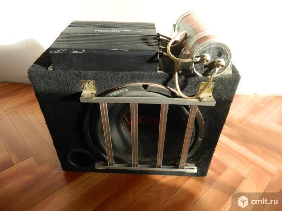 Саб 12, 2-х канальный усилитель, конденсатор