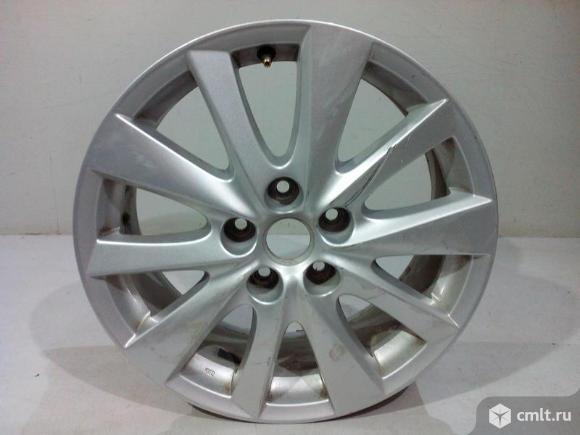 Диск колесный литой R17X7J ET50 5X114.3 MAZDA CX-5 11-17 б/у KD45V3810TG 3*