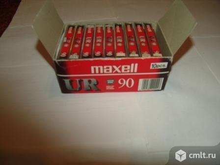 Кассеты аудио Макселл  UR. Фото 1.