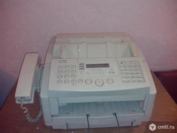 FAX-CANON-L300 Факс с лазерной печатью на обычной бумаге
