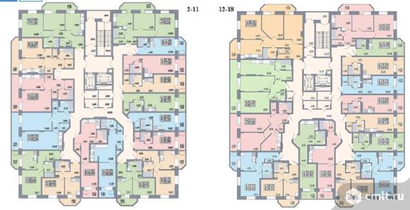 3-комнатная квартира 77,64 кв.м