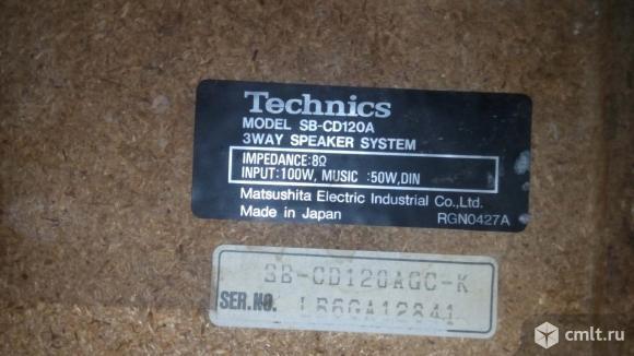 Колонки Technics