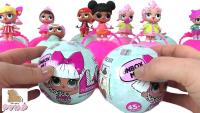 Куклы LOL SurpriseLil Outrageous Littles (сокращенно - L.O.L.) или немного эпатажные крохи