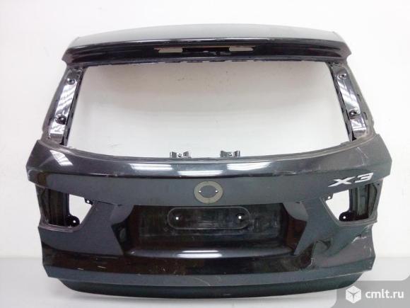 Крышка багажника BMW X3 F25 10- 41007275066 б/у 3*. Фото 1.