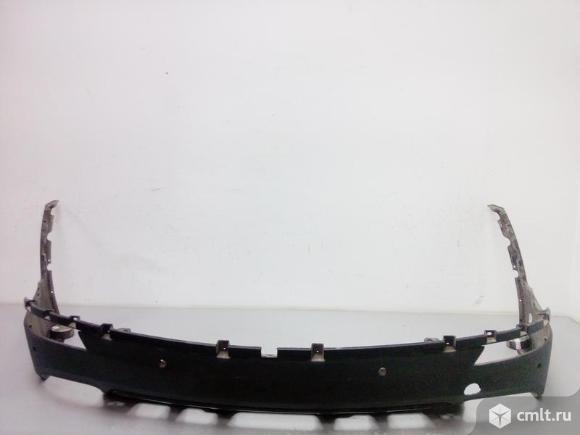 Юбка спойлер бампера заднего HYUNDAI GRAND SANTA FE 12-15 б/у 86650B8000 4*. Фото 1.