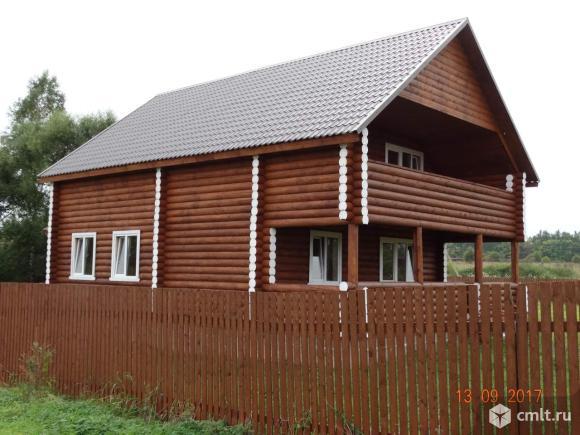 Новый дом с газом в деревне. 80 км от МКАД Площево