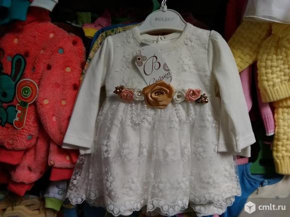 Нарядное платье новое р.74-86