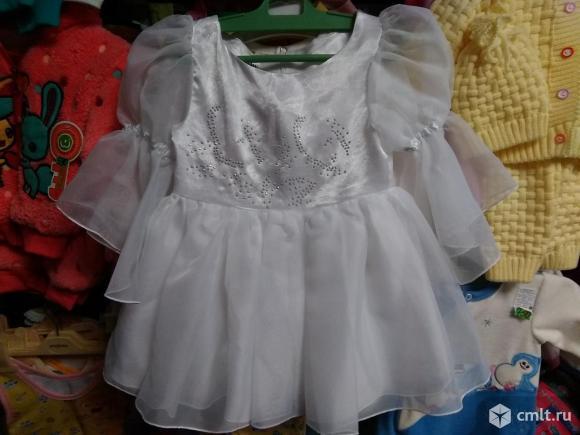 Новое платье на НГ на 2-3 года. Фото 1.