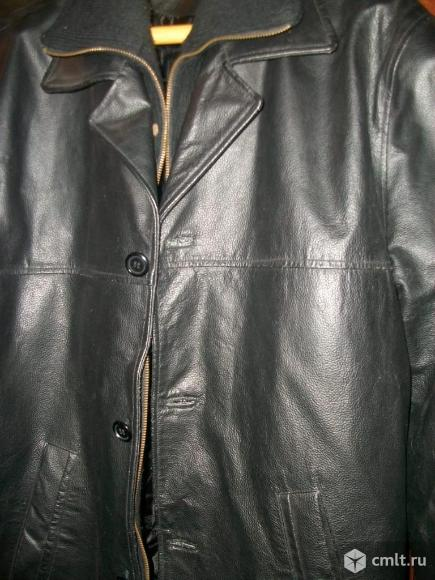 Куртка кожа б/у. Фото 1.