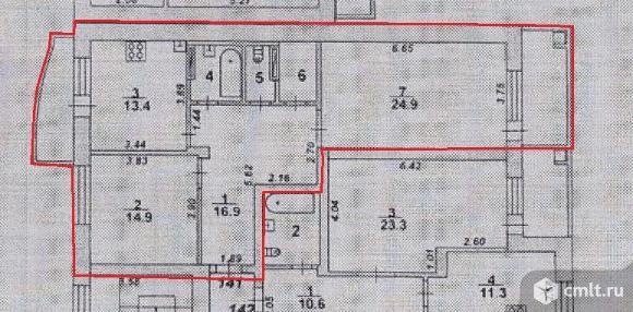 2-комнатная квартира 78,9 кв.м