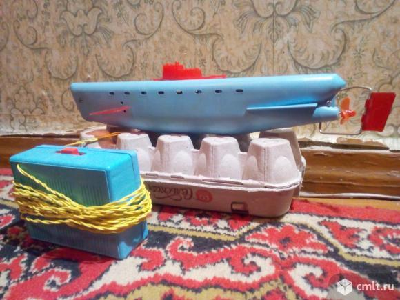 Игрушка Подводная лодка электромеханическая. Фото 1.