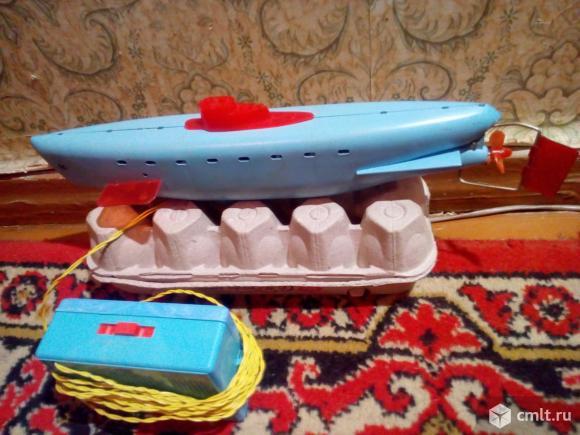Игрушка Подводная лодка электромеханическая. Фото 2.
