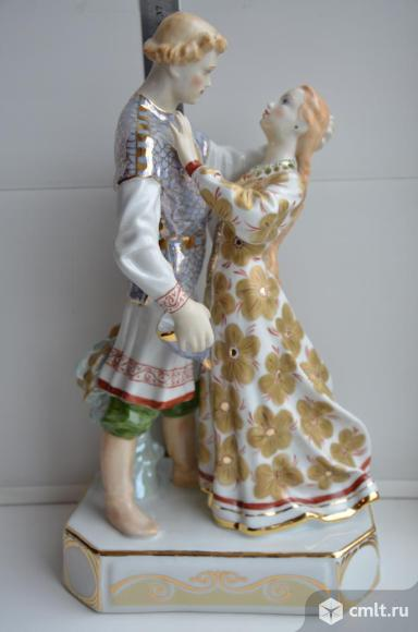 Дулево. Статуэтка Руслан и Людмила. Авторская.. Фото 1.