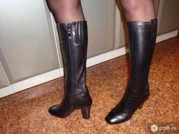 Продам женские осенние сапоги.. Фото 3.