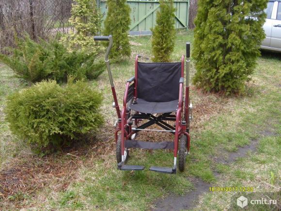 Инвалидная коляска с рычажным приводом