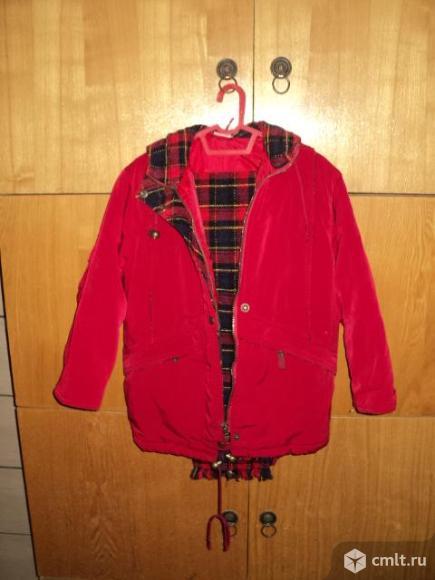 Детская куртка рост 116-122. Фото 3.