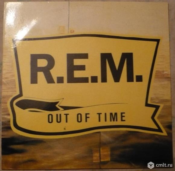 "Грампластинка (винил). Гигант [12"" LP]. R.E.M. Out Of Time. 1991. BRS, 1992. Россия.. Фото 1."