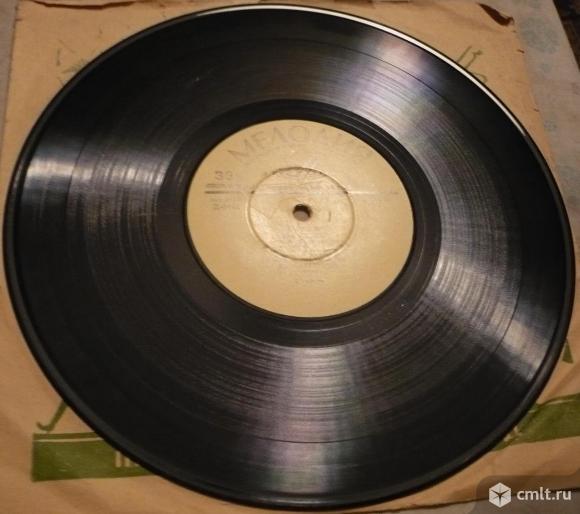 "Грампластинка (винил). Гранд [10"" LP]. Мария Гринберг (ф-но). Людвиг ван Бетховен. 1-я и 14-я сонаты. Фото 6."