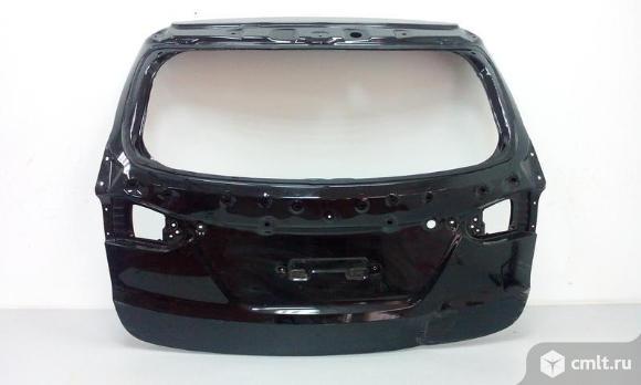 Крышка багажника HYUNDAI SANTA FE 12-  б/у 73700B8120 3*. Фото 1.