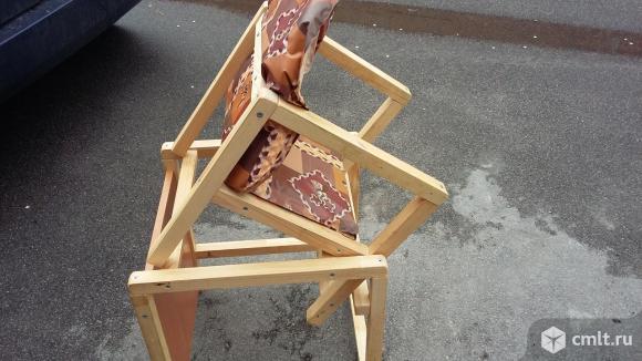 Детский стульчик со столом. Фото 4.