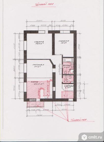 3-комнатная квартира 129 кв.м. Фото 8.