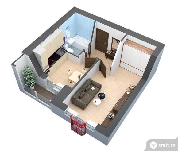 Продается 1 комн. квартира, 36 кв.м.