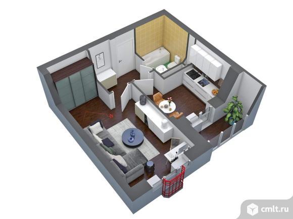Продается 1-комн. квартира, 37.1 кв.м.