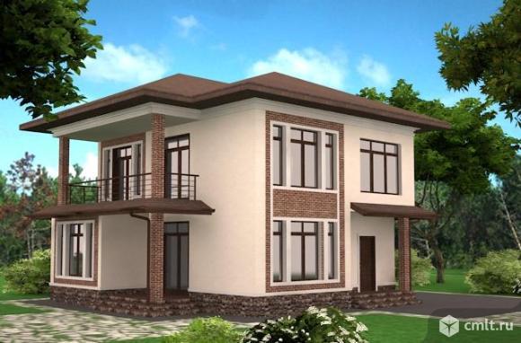 дом и гостевой дом с сауной 230 м2 на уч 12 сот