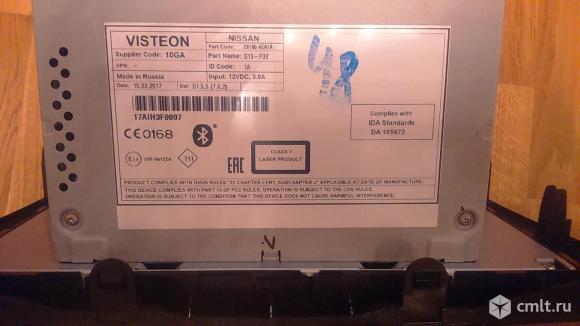 Продается штатная автомагнитола для Nissan X-Trail