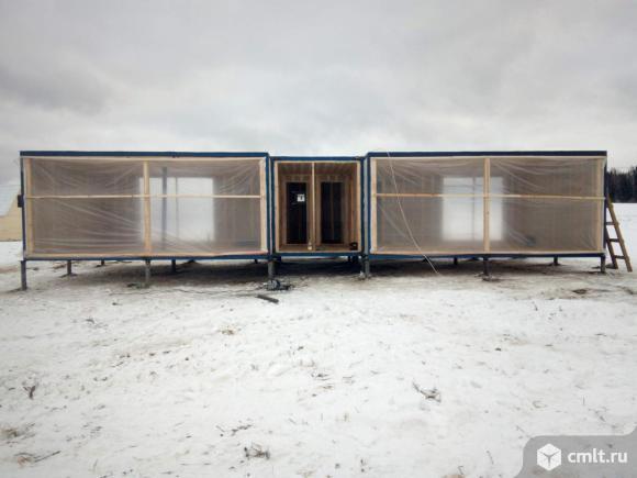 Продажа: Модульный дом 84 кв.м. на участке 8 сот.